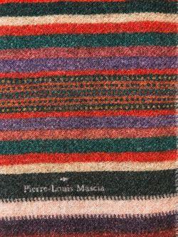 Шарф С Комбинированным Принтом PIERRE-LOUIS MASCIA                                                                                                              зелёный цвет