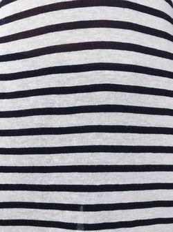 Платье-Майка В Полоску Alexander Wang                                                                                                              чёрный цвет