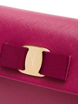 Клатч Vara Salvatore Ferragamo                                                                                                              красный цвет