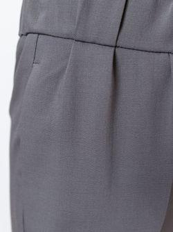 Укороченные Брюки Brunello Cucinelli                                                                                                              серый цвет