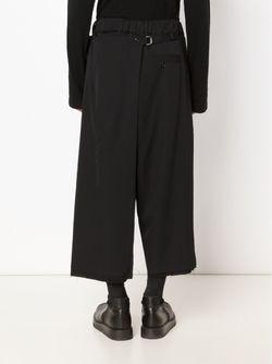 Широкие Брюки Yohji Yamamoto                                                                                                              черный цвет