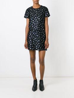 Блузка С Вышивкой MSGM                                                                                                              чёрный цвет