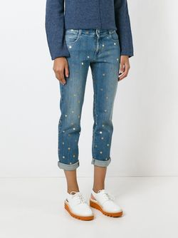 Джинсы Polka Dot Tomboy Stella Mccartney                                                                                                              синий цвет