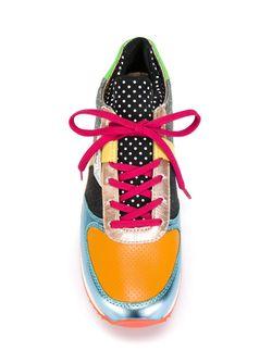 Кроссовки С Панельным Дизайном Dolce & Gabbana                                                                                                              желтый цвет