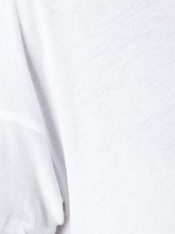 Футболка С Круглым Вырезом James Perse                                                                                                              белый цвет