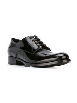Туфли Дерби С Эелементами Брог Dolce & Gabbana                                                                                                              черный цвет