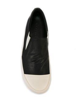 Кроссовки С Контрастными Носками RICK OWENS DRKSHDW                                                                                                              черный цвет