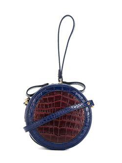Сумка На Плечо Круглой Формы Vivienne Westwood Anglomania                                                                                                              синий цвет