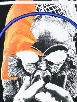 Толстовка С Абстрактным Принтом Mcq Alexander Mcqueen                                                                                                              чёрный цвет