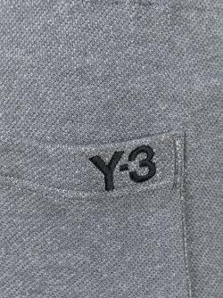 Укороченные Спортивные Брюки Y-3                                                                                                              серый цвет