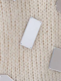 Декорированный Свитер LE CIEL BLEU                                                                                                              белый цвет