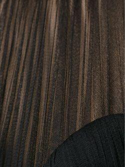 Облегающее Платье Без Рукавов Alexander McQueen                                                                                                              чёрный цвет