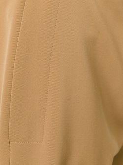 Укороченные Брюки Stella Mccartney                                                                                                              коричневый цвет