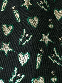 Платье Шифт С Вышивкой MSGM                                                                                                              черный цвет