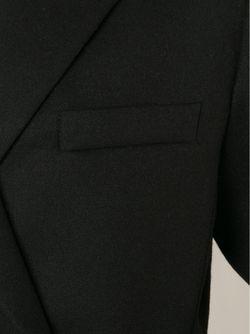 Укороченный Двубортный Блейзер Vera Wang                                                                                                              черный цвет