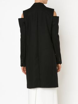 Cut Shoulder Coat Vera Wang                                                                                                              черный цвет