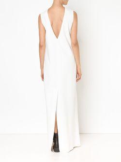 Sleeveless Column Gown Vera Wang                                                                                                              белый цвет