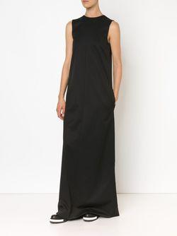 Sleeveless Column Gown Vera Wang                                                                                                              чёрный цвет