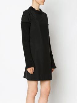 Платье Со Шнуровкой Сзади Vera Wang                                                                                                              черный цвет