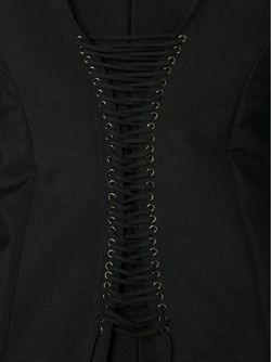 Long Corset Back Dress Vera Wang                                                                                                              чёрный цвет