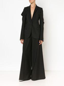 Draped Sleeve Blazer Vera Wang                                                                                                              черный цвет