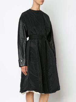 Oversized Coat Vera Wang                                                                                                              черный цвет