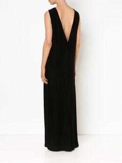 Velvet Column Gown Vera Wang                                                                                                              черный цвет