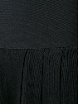 Плиссированный Комбинезон Balmain                                                                                                              чёрный цвет
