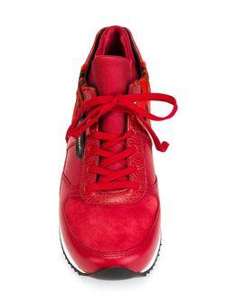 Кроссовки С Панельным Дизайном Dolce & Gabbana                                                                                                              красный цвет