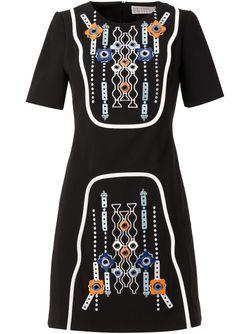 Embellished A-Line Dress Peter Pilotto                                                                                                              черный цвет