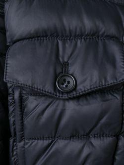 Укороченная Дутая Куртка Red Valentino                                                                                                              синий цвет