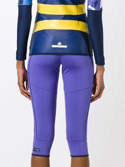 Укороченные Брюки Кроя Слим Adidas By Stella  Mccartney                                                                                                              розовый цвет