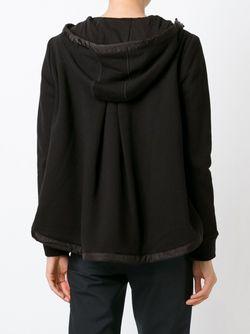 Стеганая Куртка С Капюшоном Moncler                                                                                                              черный цвет