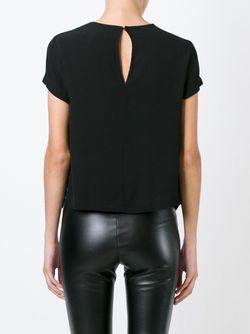 Многослойная Блузка 8pm                                                                                                              черный цвет