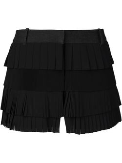 Pleated Ruffle Shorts Vera Wang                                                                                                              черный цвет