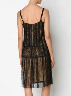 Lace Midi Dress Vera Wang                                                                                                              чёрный цвет