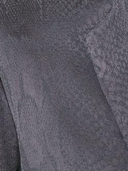 Блейзер Nomadic С Эффектом Змеиной Кожи GINGER & SMART                                                                                                              серый цвет