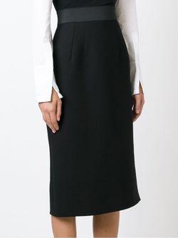Юбка Прямого Кроя Dolce & Gabbana                                                                                                              черный цвет