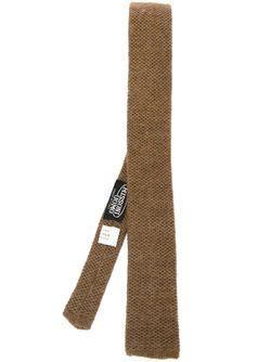 Вязаный Галстук MISSONI VINTAGE                                                                                                              коричневый цвет