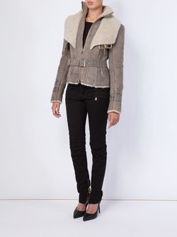 Куртка На Молнии Balmain                                                                                                              серый цвет