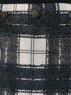 Плиссированная Юбка В Клетку Diesel                                                                                                              серый цвет