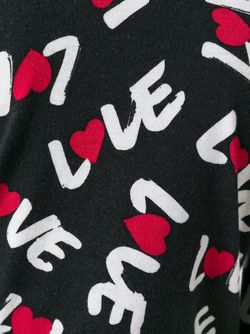 Кардиган Love Love Moschino                                                                                                              черный цвет