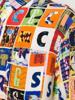 Рубашка С Принтом Букв Kit Neale                                                                                                              многоцветный цвет