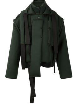 Мешковатая Стилизованная Куртка CRAIG GREEN                                                                                                              зелёный цвет