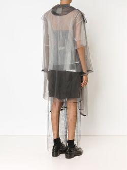 Длинное Прозрачное Пальто PHOEBE ENGLISH                                                                                                              серый цвет