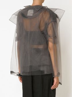 Двухслойная Прозрачная Куртка PHOEBE ENGLISH                                                                                                              серый цвет
