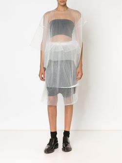 Double Layered Sheer Skirt PHOEBE ENGLISH                                                                                                              белый цвет