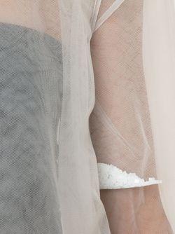 Double Layered Sheer Top PHOEBE ENGLISH                                                                                                              белый цвет