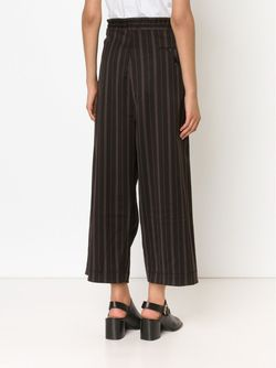 Wide Leg Trousers A TENTATIVE ATELIER                                                                                                              чёрный цвет