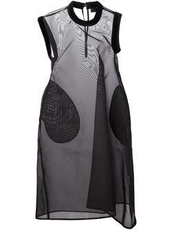 Прозрачное Платье Свободного Кроя MELITTA BAUMEISTER                                                                                                              черный цвет